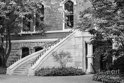 Downtown Nashville Photograph - Vanderbilt University Stairway by University Icons