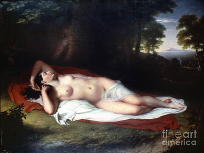 1814 Painting - Vanderlyn: Ariadne Asleep by Granger