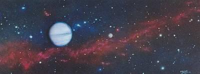 Interplanetary Space Painting - Vandor by Wally Jones