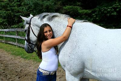 Photograph - Vanessa-ireland13 by Life With Horses