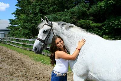 Photograph - Vanessa-ireland15 by Life With Horses
