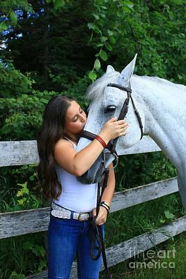 Photograph - Vanessa-ireland18 by Life With Horses