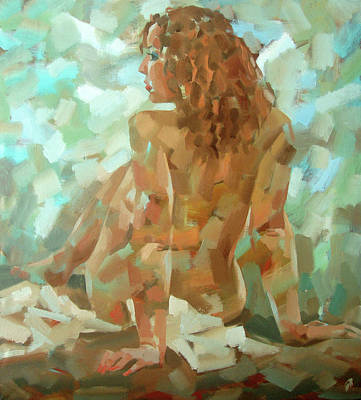 Atkinsky Painting - Vanilla by Alexander Ilichev
