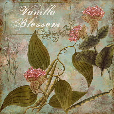 Blooming Painting - Vanilla Blossom by Mindy Sommers
