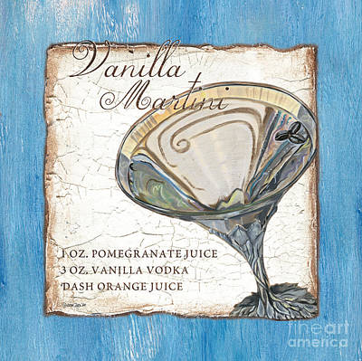 Crystal Painting - Vanilla Martini by Debbie DeWitt