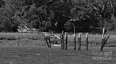 Photograph - Vanishing Dock by D Hackett