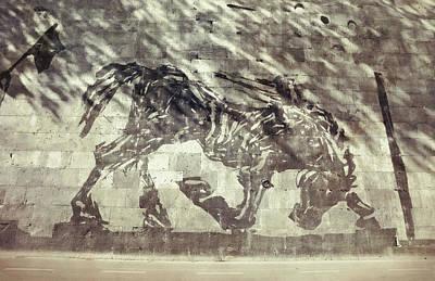 Photograph - Tiber Vanishing Mural  by JAMART Photography