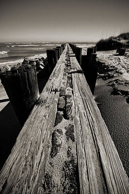 Vanishing Point Folly Beach Art Print by Dustin K Ryan