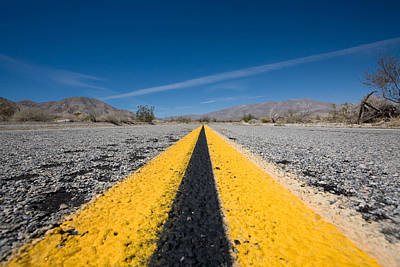 Anza Borrego Desert Photograph - Vanishing Point by Peter Tellone