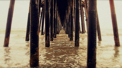 Photograph - Vanishing Point - Pier by Glenn McCarthy Art and Photography