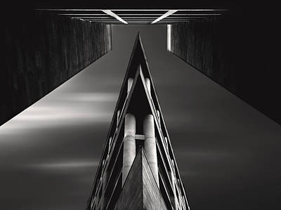 Symmetry Photograph - Vanishing Point by Sourig  Arslanian