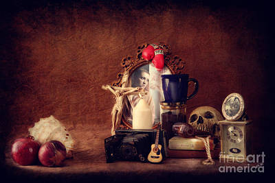 Photograph - Vanitas by Erika Weber