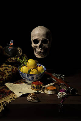 Photograph - Vanitas- The Trader by Levin Rodriguez