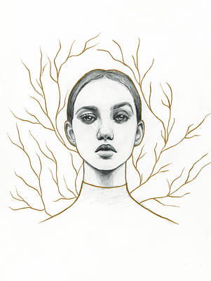 Drawing - Vanity by Zapista