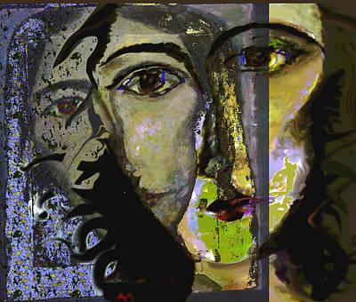 Self-portrait Mixed Media - Vanity by Noredin Morgan