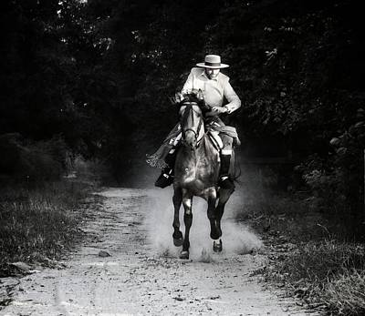 Photograph - Vaquero Corrida by Alice Gipson