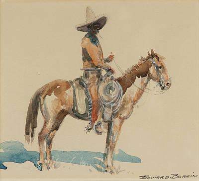 Vaquero Painting - Vaquero  by MotionAge Designs