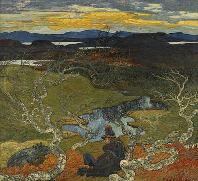 Painting - Varafton Behind Kiruna by Treasury Classics Art