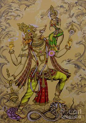 Painting - Varaha Deva by Vrindavan Das