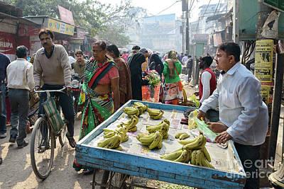 Photograph - Varanasi Street Vendor 01 by Werner Padarin