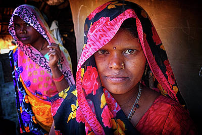 Photograph - Varanasi Village Women by David Longstreath