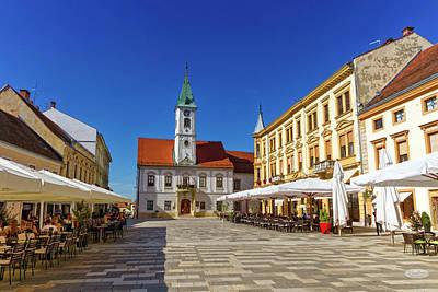 Photograph - Varazdin Main Square, Croatia by Elenarts - Elena Duvernay photo