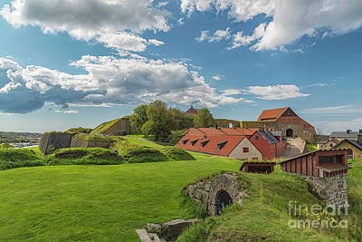 Photograph - Varberg Fort In Sweden by Antony McAulay