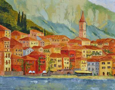 Varenna  Italy Art Print by Ginger Concepcion
