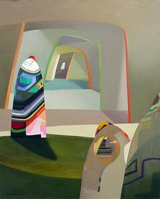 Mochica Painting - Variaciones Ancestrales-i by Roberto Kasisol
