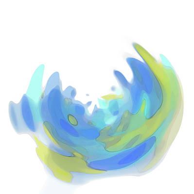 Translucence Digital Art - Variation 1 Spyglass by Gina Harrison