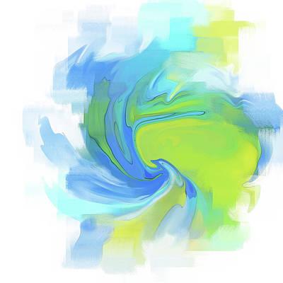 Digital Art - Variation 3 Vortex by Gina Harrison