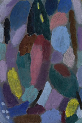 Painting - Variation Field Of Tulips by Alexej von Jawlensky
