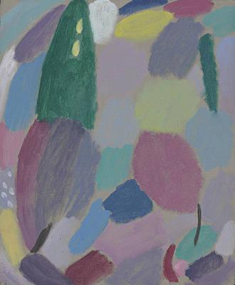 Reverie Painting - Variation Reverie by Alexej von Jawlensky