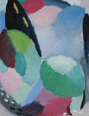 Jawlensky Painting - Variation Sunrise by Alexej von Jawlensky