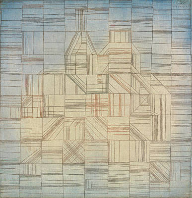 Expressionist Painting - Variations, Progressive Motif by Paul Klee
