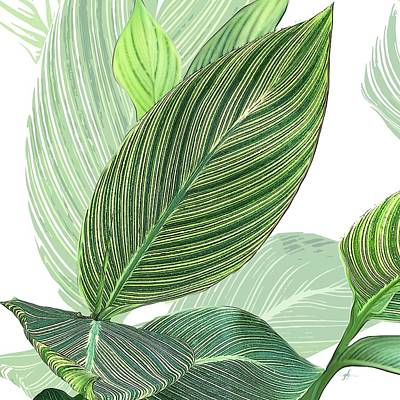 Digital Art - Variegated by Gina Harrison