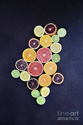 Photograph - Variety Of Citrus Fruits by Stephanie Frey