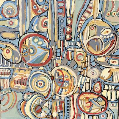 Painting - Variosbarrios # 4 by Jeffrey Davies
