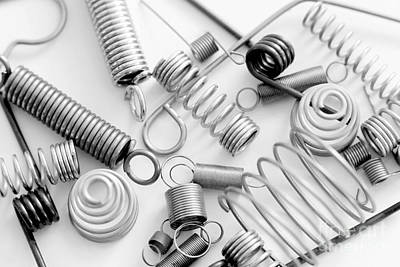 Various Types Of Springs Art Print by B Christopher