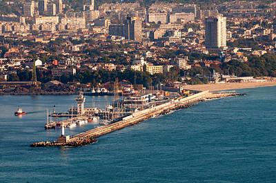 Bath Time - Varna harbour by Boyan Dimitrov