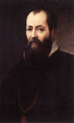 Digital Art - Vasari Self Portrait    by Giorgio Vasari