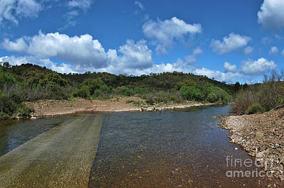 Photograph - Vascao River In Algarve, Portugal by Angelo DeVal