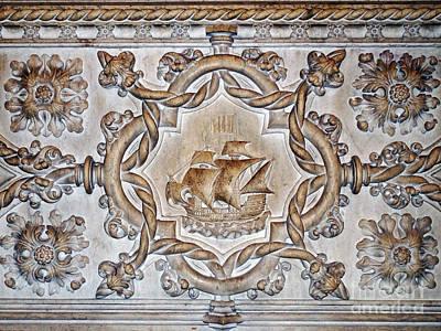 Photograph - Vasco Da Gama Sarcophagus Lisbon by Rudi Prott