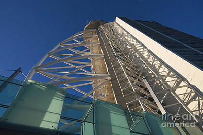 Photograph - Vasco Da Gama Tower And Myriad Hotel Lisbon 2 by Rudi Prott