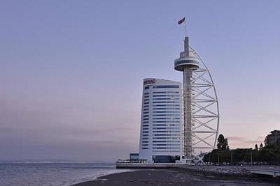 Photograph - Vasco Da Gama Tower  by Marek Stepan