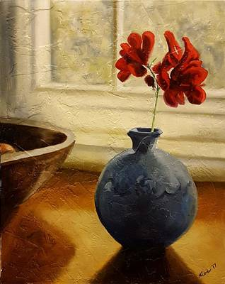 Painting - Vase And Bowl by Alan Conder