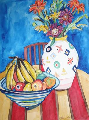 Painting - Vase And Bowl by Esther Newman-Cohen