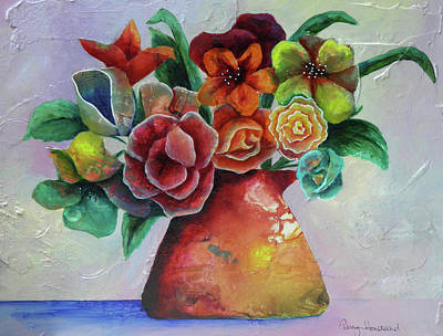Painting - Vase Full Of Peace And Delight by Terry Honstead