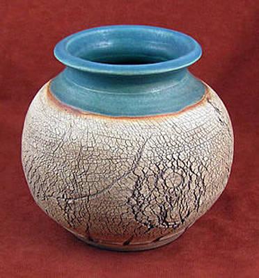 Ceramic Art - Vase by Judy  Hensley