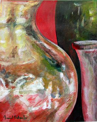 Vase Art Print by Muriel Dolemieux
